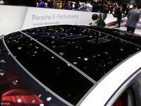 細節外觀Panamera混動車頂