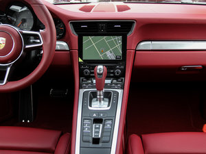 2016款Carrera 4S 中控台
