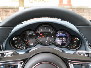 2016款Carrera 4 仪表