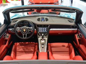 2016款Carrera 4 Cabriolet 全景内饰