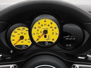 2016款Boxster S 增强套件版 中控区