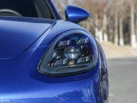 细节外观Panamera头灯