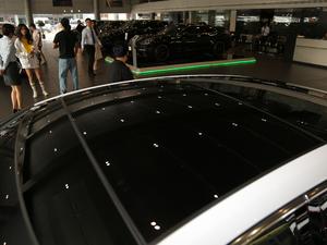2017款4S 行政加长版 车顶