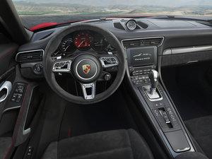 2017款Carrera 4 GTS Cabriolet 中控区