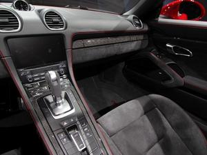 2018款718 Boxster GTS 中控区