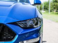 细节外观Mustang头灯