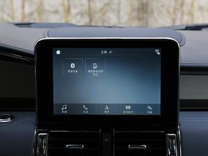 2018款3.5T 总统版 中控台显示屏