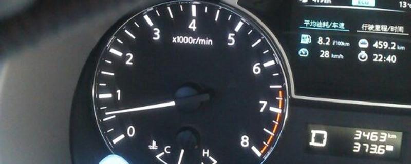 天籁正常怠速转速表应该是多少?