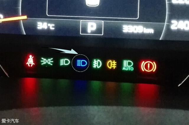 汽车故障灯