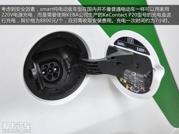 smart2014款smart fortwo 电动车