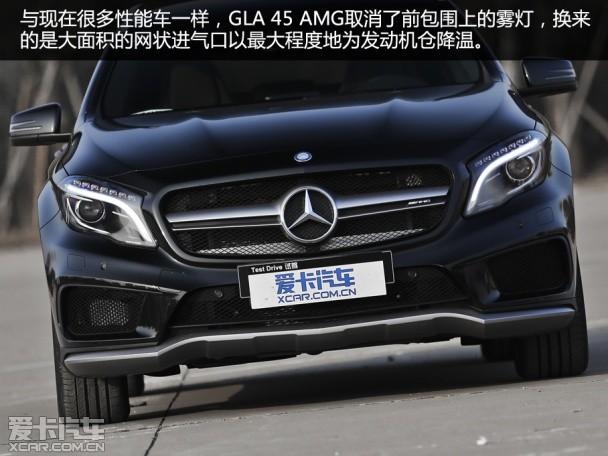 暴躁的独行侠 爱卡测试奔驰GLA 45 AMG