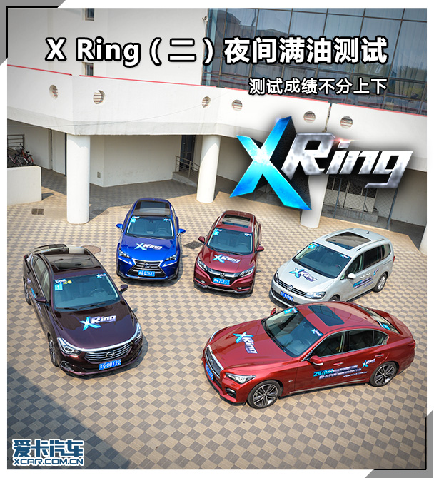 X Ring第二期 夜满测试