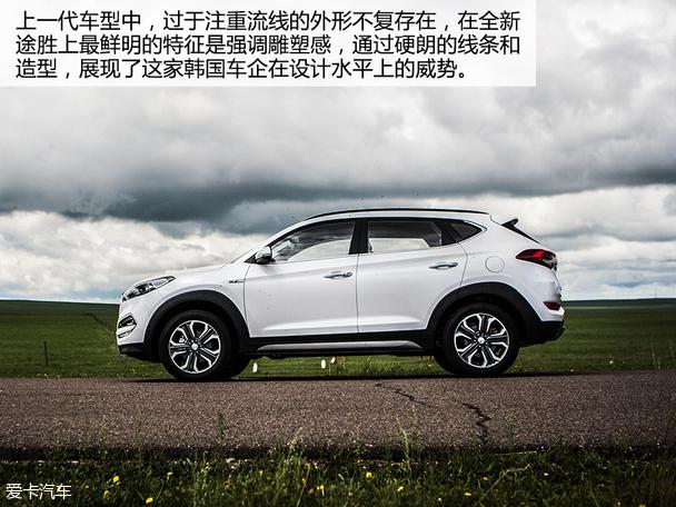 2016新途胜白色_城市高端SUV2016款北京现代新途胜价格7W_