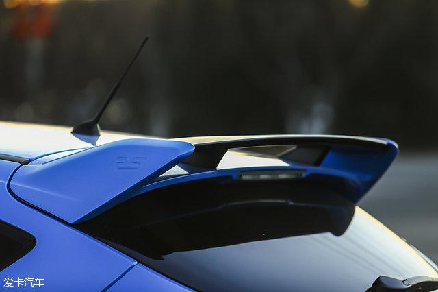 参与感爆棚 爱卡测福特福克斯RS赛道版