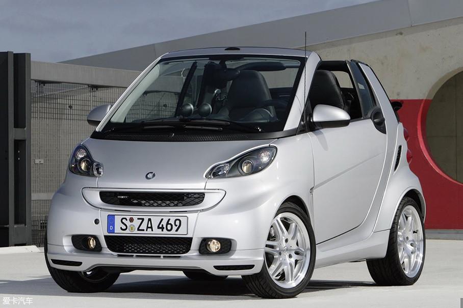 除了更加运动化的外观和尺寸更大的轮胎外,动力部分也换装了1.0T涡轮增压发动机。而随着国内官方引进,W541时代的smart BRABUS成为了最为国内车迷所熟知的高性能小车。