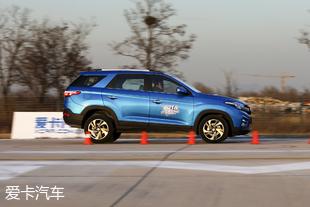 爱卡汽车测试东风风光S560