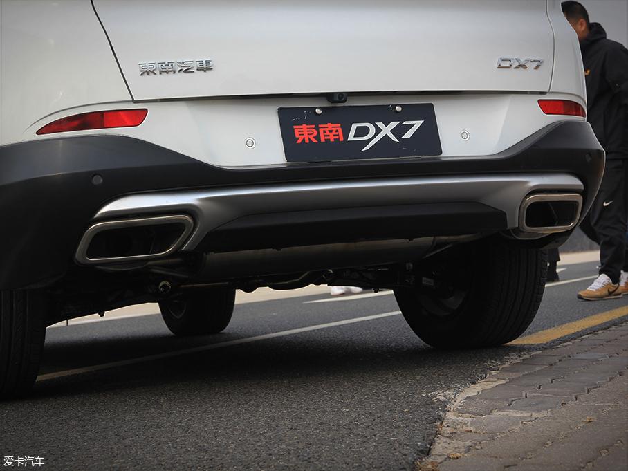 快慢之间的平衡 爱卡试驾全新东南DX7