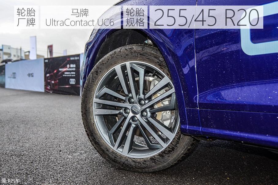 20英寸的轮圈只有这一种样式,19英寸的轮圈有4种样式选择。