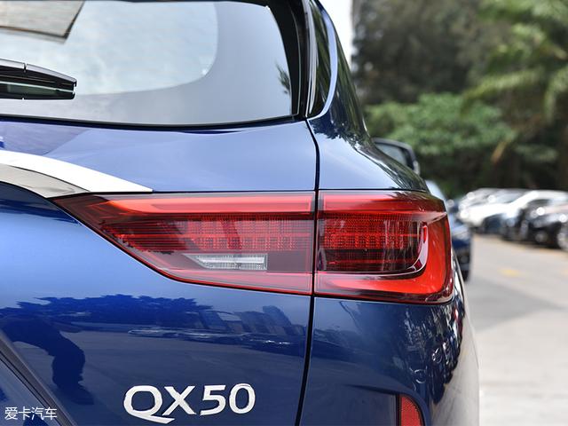 实拍东风英菲尼迪全新QX50