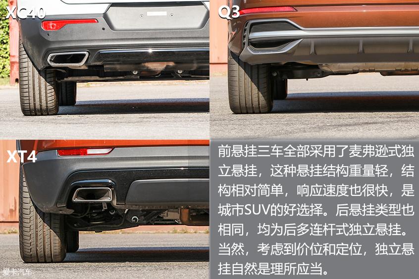 沃尔沃XC40三车对比