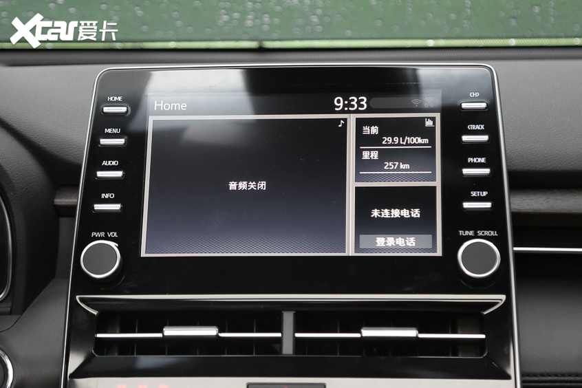 一汽丰田亚洲龙2.0L实拍 中型车搅局者