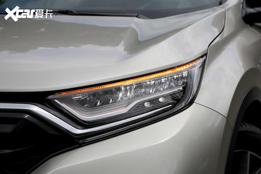 新CR-V前大灯