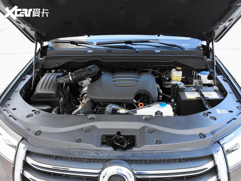 长城炮乘用版柴油8AT