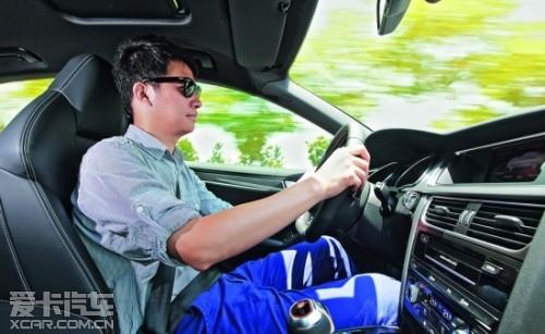 试驾奥迪S5 Sportback