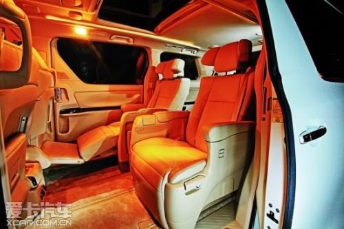 试驾丰田埃尔法3.5L豪华版