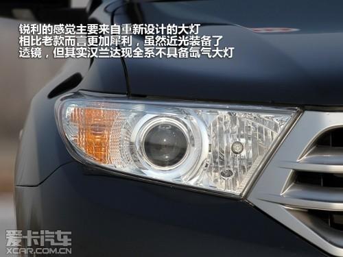 广汽丰田2012款汉兰达