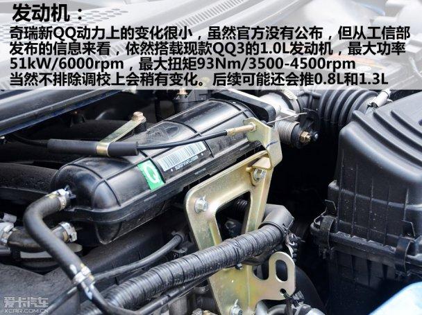 0l发动机,型号为sqr371f,与之匹配的是五速手动变速器.