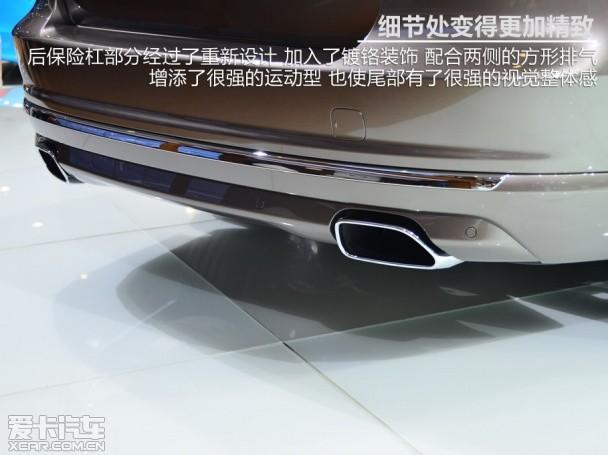 全新沃尔沃S80L静态体验