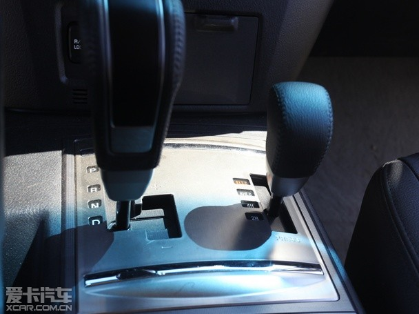 爱卡四驱测试之三菱帕杰罗超选四驱系统