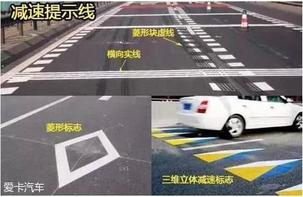 驾照考试科目一考试路面交通标志汇总