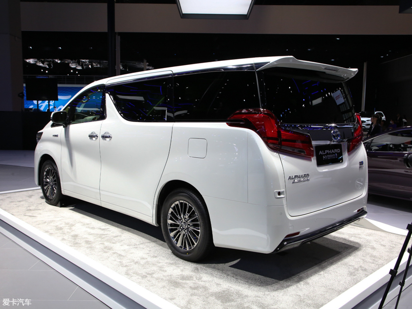 丰田(进口)2019款埃尔法 双擎