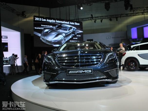 2013洛杉矶车展 奔驰新款s65 amg发布
