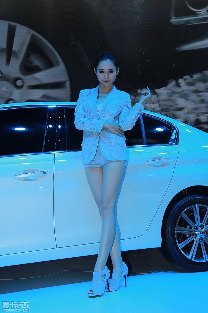 爱卡首页 2014年北京车展 车展车模 标致车模 东风标致车模  分享 29