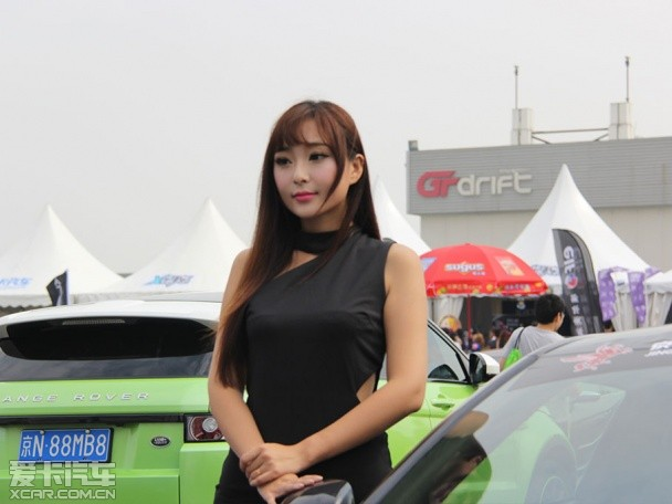 GTR冷艳车模