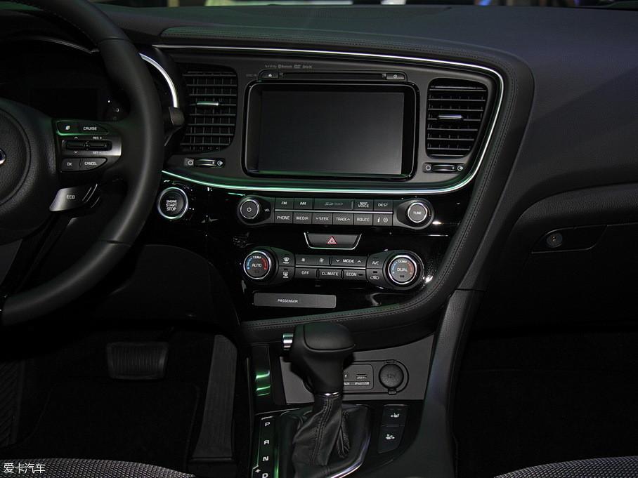 国产起亚K5混动版上市高清图片