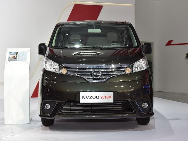 郑州日产2016款日产NV200