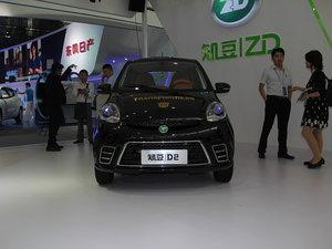 2015款知豆D2 上海车展