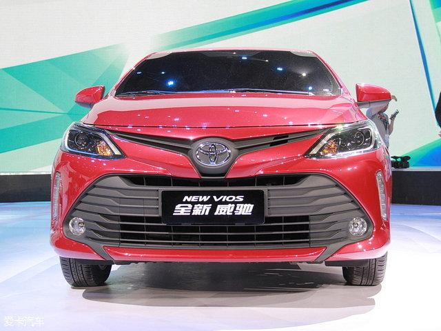 一汽丰田新款威驰年内上市 外观更年轻高清图片
