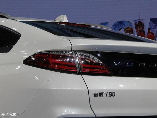搭2.0L发动机 启辰T90将于下半年上市高清图片