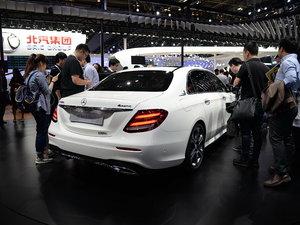 北京车展奔驰E级