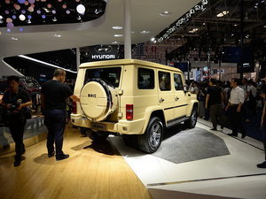 北京车展北京BJ80 PHEV