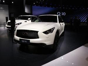 广州车展英菲尼迪QX70