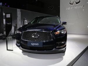 广州车展英菲尼迪QX60混合动力