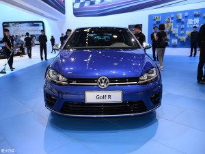 广州车展Golf R