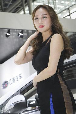 广州车展现代车模