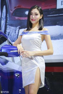 广州车展东风风行车模
